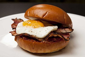 Plain Bacon and Egg Roll